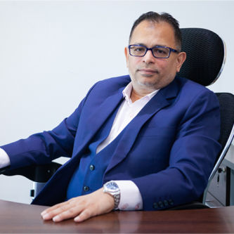 Mukarram Shabbir Chief Financial Officer